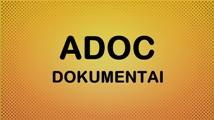 Elektroninių dokumentų sudarymas ir tikrinimas